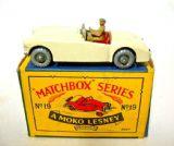 MATCHBOX / LESNEY 1-75 SERIES TOY PARTS 19B MGA Driver Unpainted [ Each ]